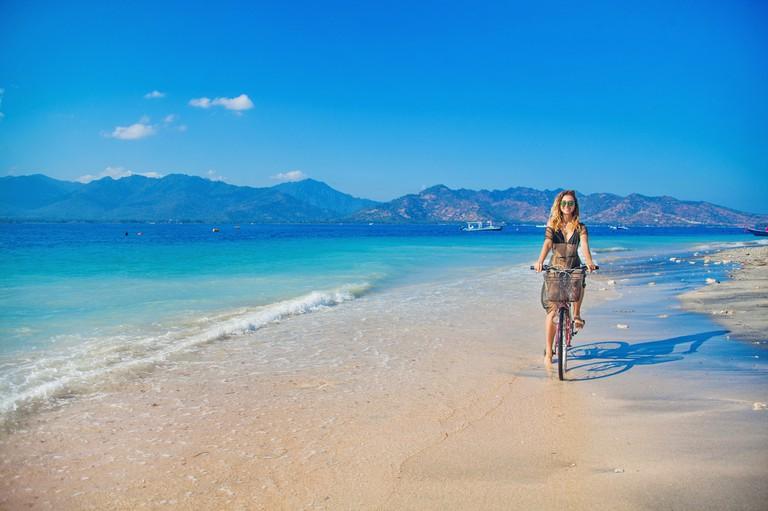 The Tropical island Gili Air