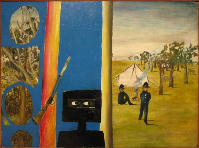 'The Camp' by Sidney Nolan (1946) © charlotteinaustralia / Flickr