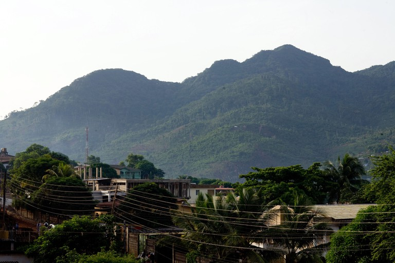 Lion mountains of Freetown, Sierra Leone, West Africa
