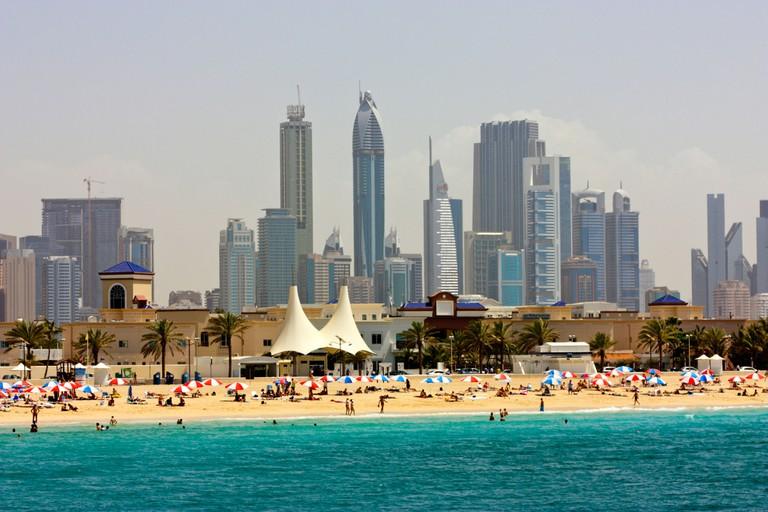 Jumeirah Public Beach, Dubai.
