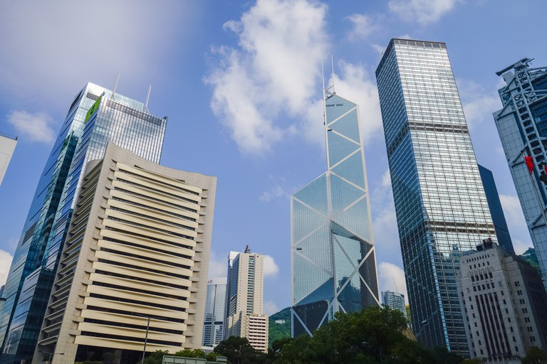Hong-Kong-Central-Business-District