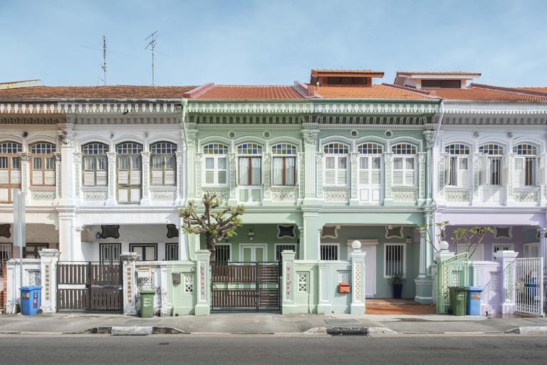 Peranakan Houses at Joo Chiat & Katong, Singapore.