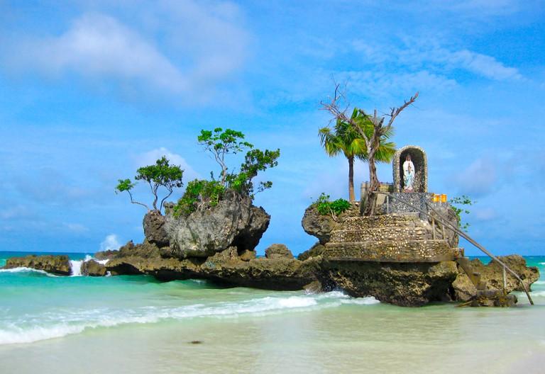 Willy's Rock, Boracay, Philippines.
