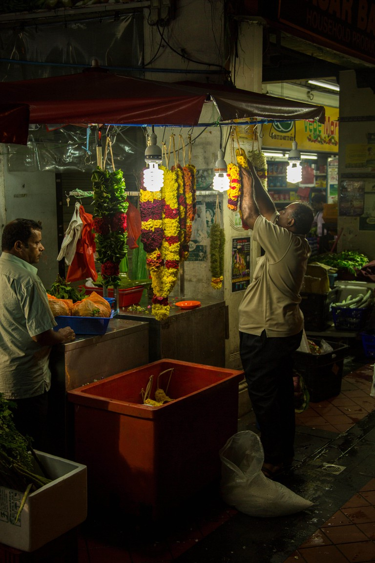 Little India, Singapore. Image shot 11/2014. Exact date unknown.