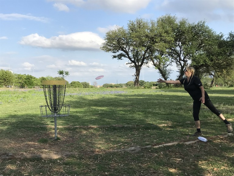 Austin offers five public disc golf courses maintained by its parks department and volunteers