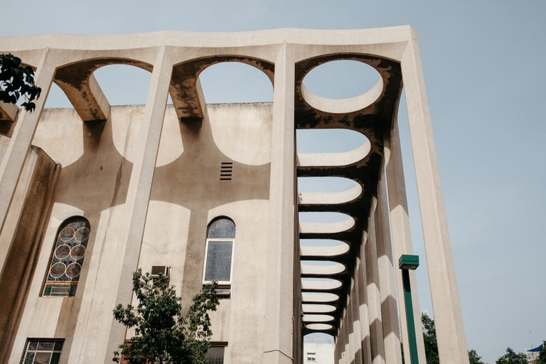 KCTP00019-GREAT SYNAGOGUE-ARCHITECTURE-TEL AVIV--ISRAEL-GRANT