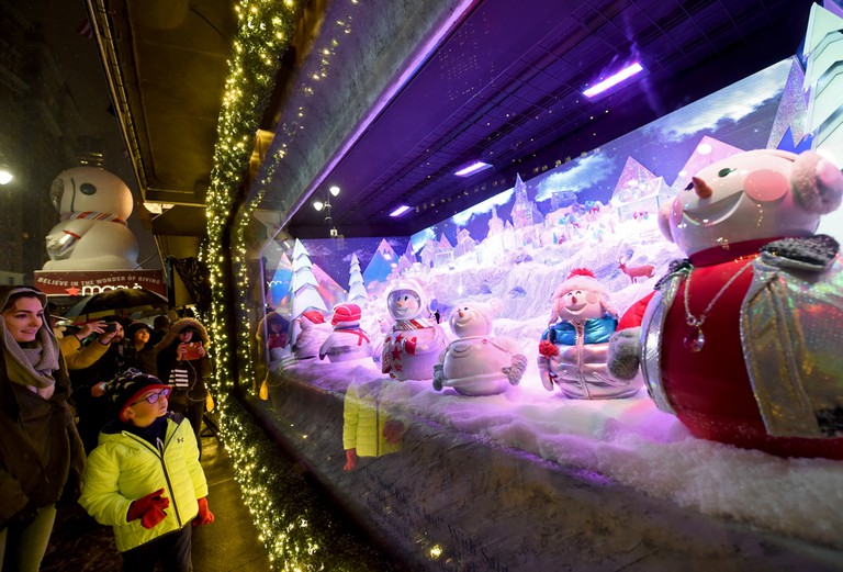Macy's Herald Square Unveils Legendary Christmas Windows