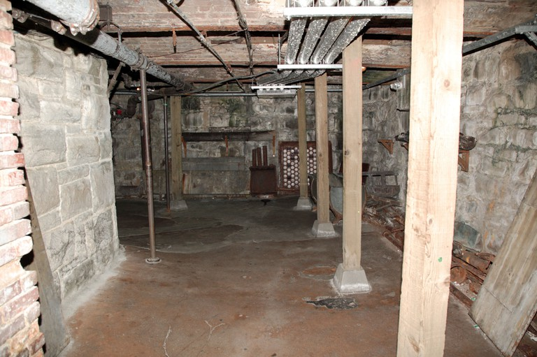 This passageway was once at street level, it now forms part of the Seattle underground tour started by Bill Speidel in 1965