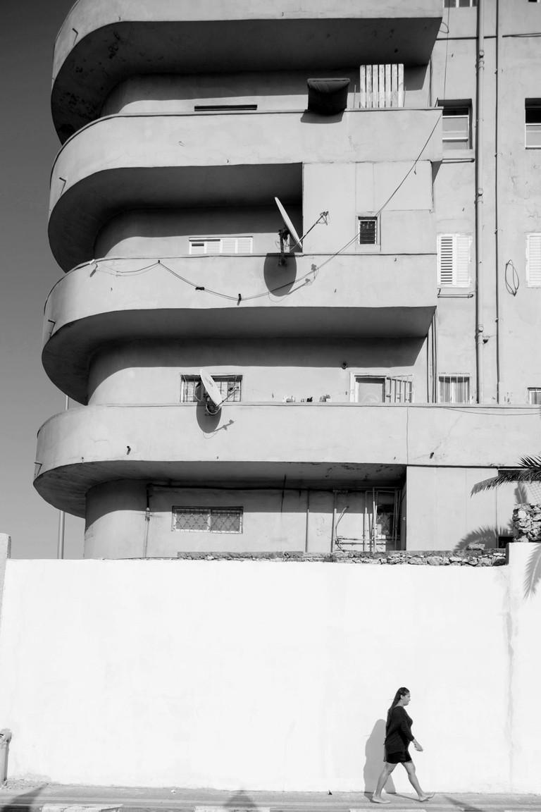 Bauhaus architecture in Tel Aviv, Israel