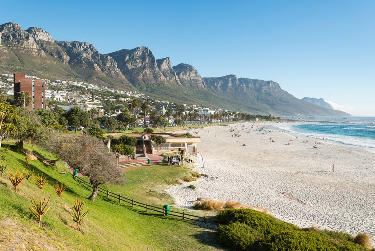 Camps Bay Beach, Camps Bay, Cape Town, City of Cape Town Municipality, Western Cape Province, Republic of South Africa