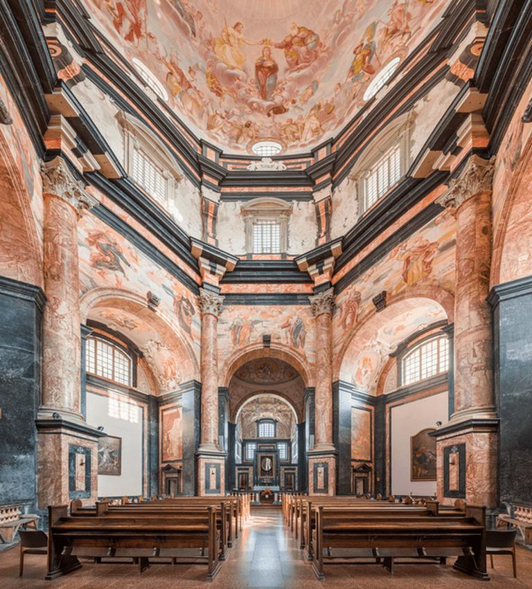 Pazaislis Monastery, Kaunas ©DAVID ILIFF/Wikimedia Commons