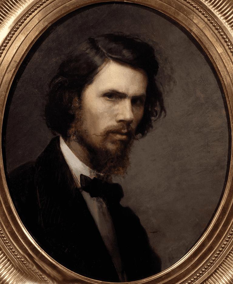 Ivan Kramskoi. 'Self Portrait' (1867) | © WikiCommons