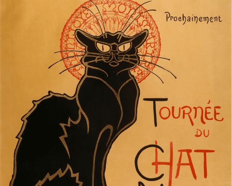 Le Tournée du Chat Noir | © Théophile-Alexandre Steinlen/WikimediaCommons