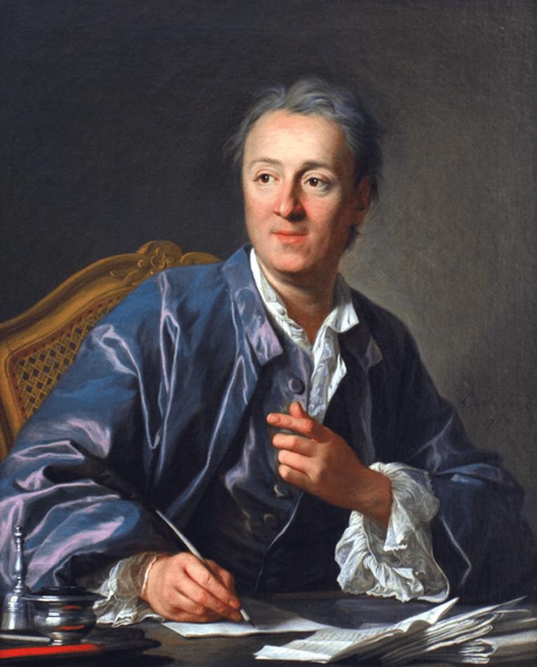 Diderot   © Louis-Michele van Loo/WikiCommons
