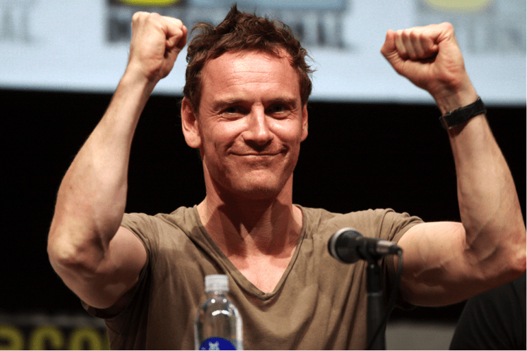 Fassbender at a press conference | © Gage Skidmore/Flickr