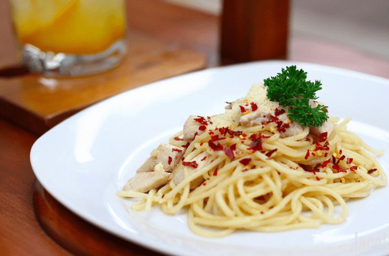 Pasta Aglio Olio|©Fajar Eka