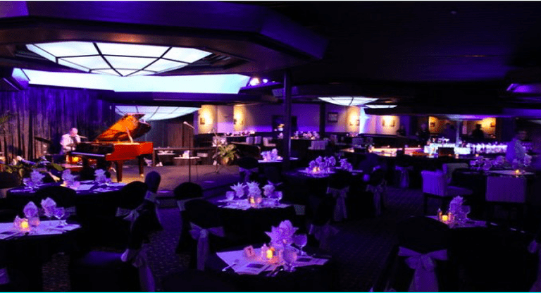 Main dining room | Courtesy of Sapphire Music Lounge