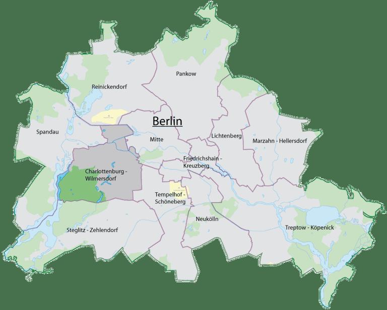 Map   © Felix Hahn/WikiCommons