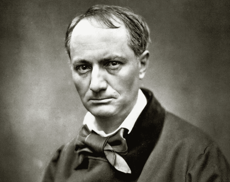 Charles Baudelaire is a French poet most well known for his collection of poems entitled Les Fleurs du Mal