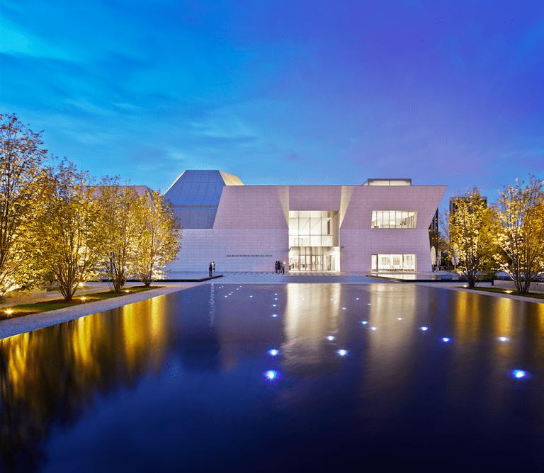 Exterior, Aga Khan Museum   © The Aga Khan Museum, 2016   Photo: Janet Kimber