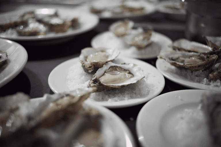 Oysters | Courtesy of London Shell Co