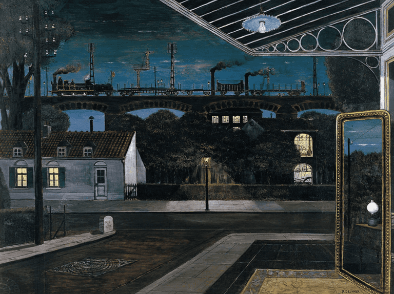 Paul Delvaux - The Viaduct |© Irina/Flickr