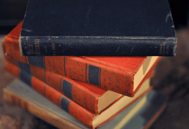 Vintage Stack Books | Maegan Tintar/Flickr