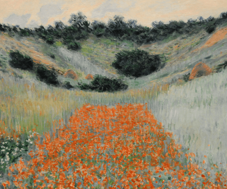 Poppy field hollow near Giverny, 1900© Art Gallery ErgsArt - by ErgSap / Flickr