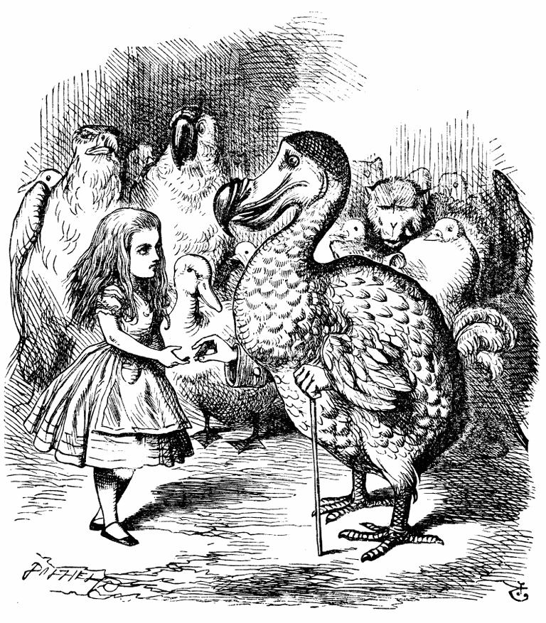Alice and the Dodo | © John Tenniel / WikiCommons