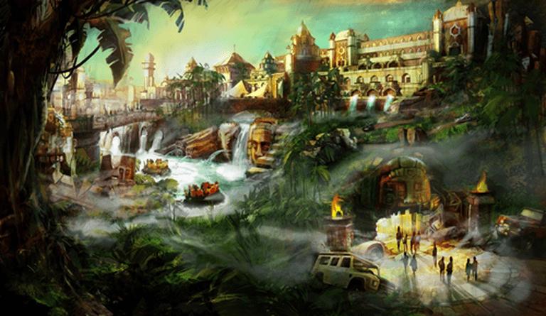 Adventure Isle | © Paramount Pictures