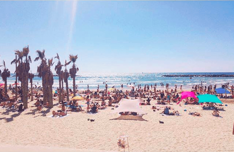 Tel Aviv Beach | Courtesy of GTLV