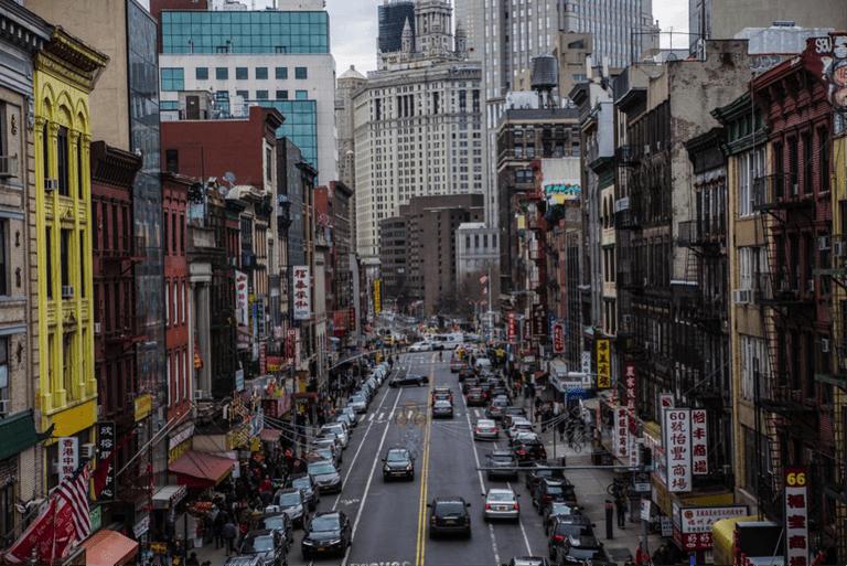 Chinatown from Manhattan Bridge | © James Douglas