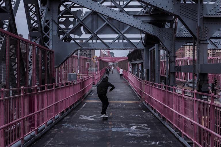 Williamsburg Bridge | © James Douglas