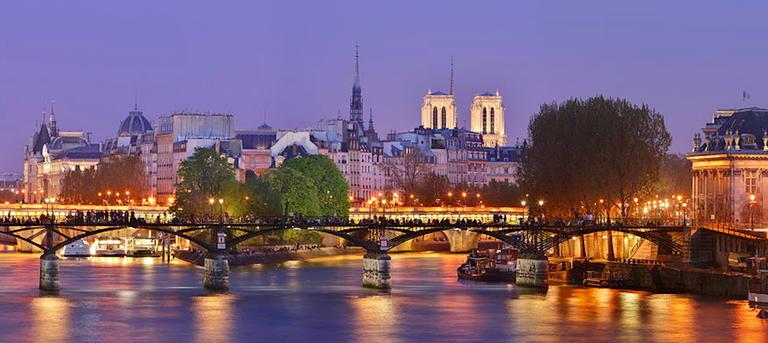 Pont des Arts   © WikiCommons