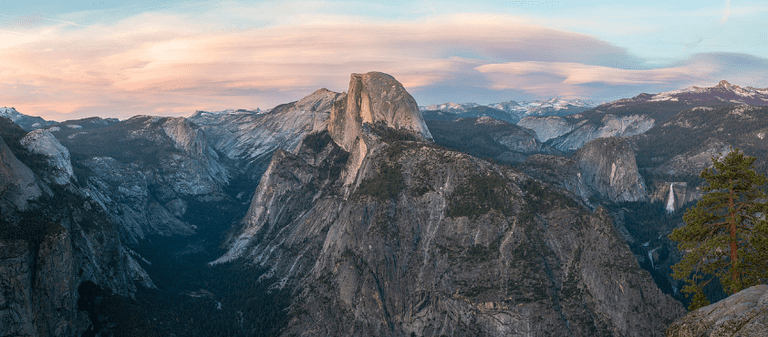 Glacier Point at Sunset, Yosemite NP, CA, US | © Diliff/Wikicommons