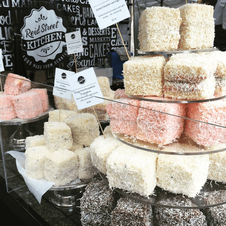 Lamingtons | Courtesy of Reid Street Kitchen