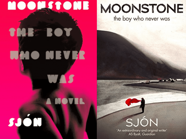 Cover of US Edition (left) courtesy of FSG and UK edition (right) courtesy of Sceptre