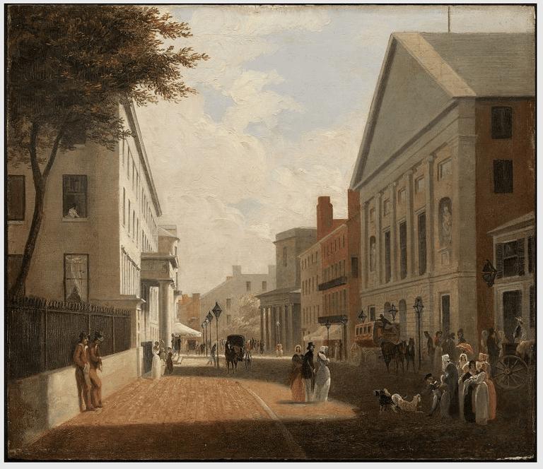 Tremont Street ©Museum of Fine Arts/Wikimedia