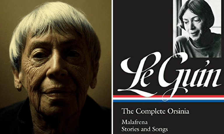 Ursula Le Guin and her Library of America collection