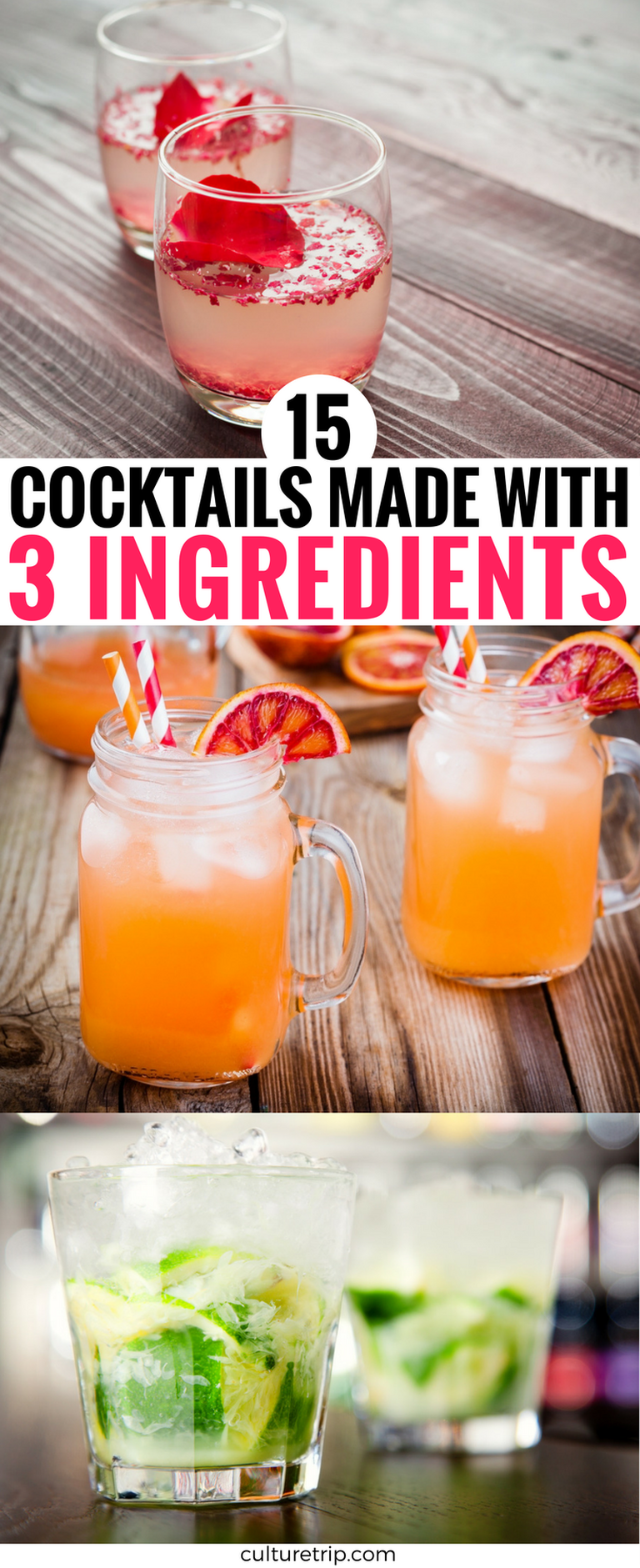 15 Stylish Cocktails Made Only With 3 Ingredients |©Culture Trip