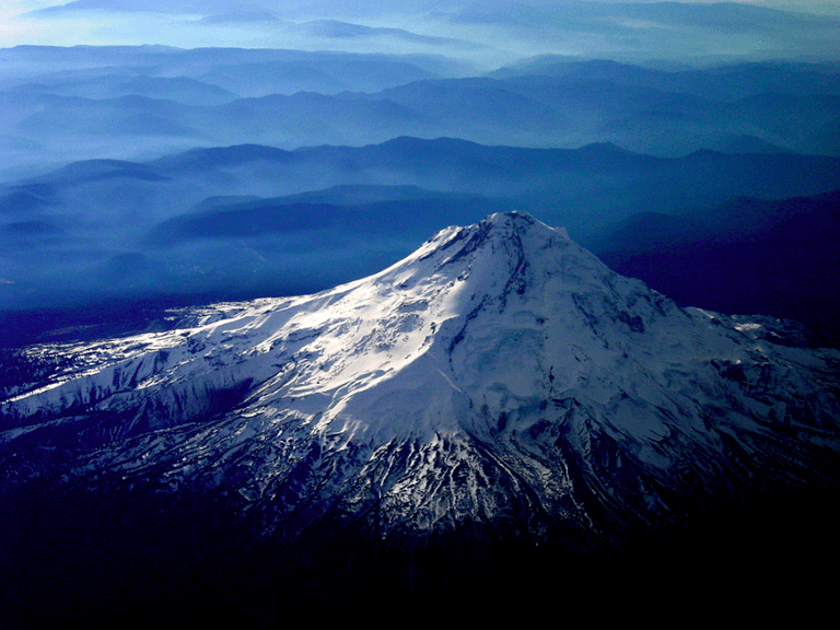 Mount Hood Aerial view | © Robert DuVernet/Wikicommons