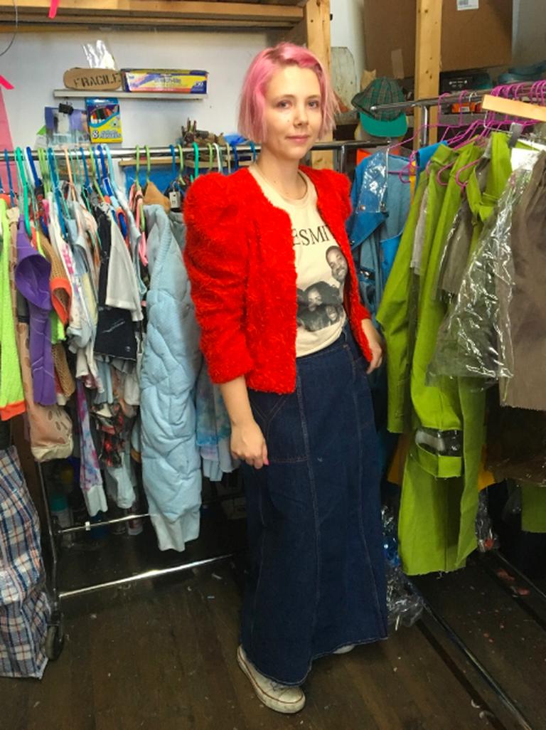 Sarah Lanthrop, Brooklyn Studio