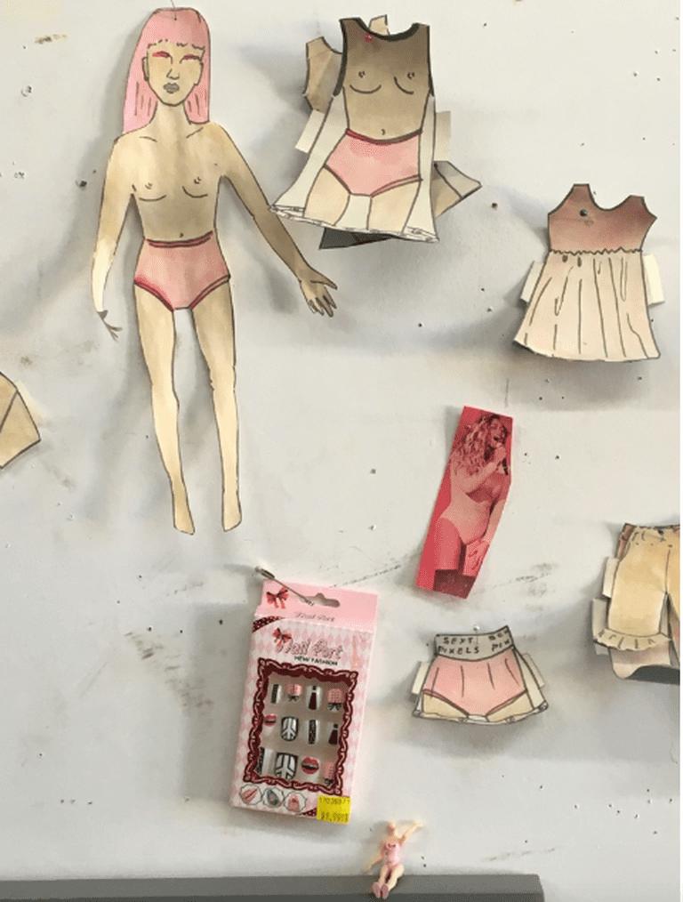 Sarah Lanthrop's Inspiration Wall