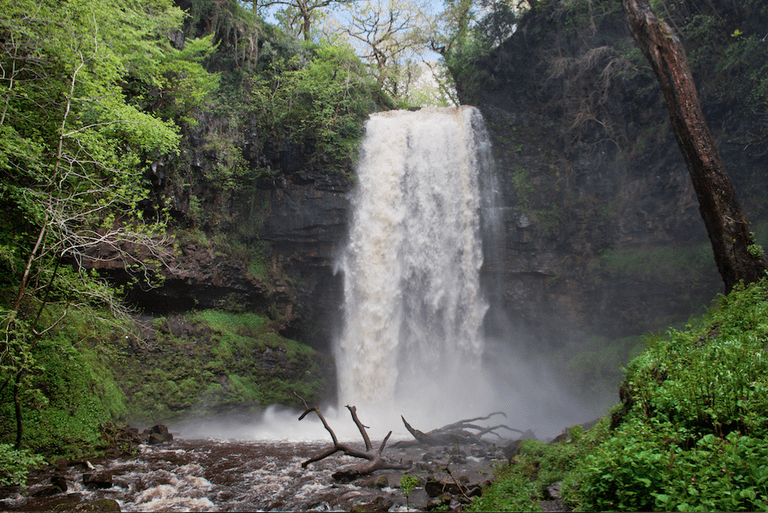 South Wales highest waterfall at some 90ft|©Ben Salter/Flickr