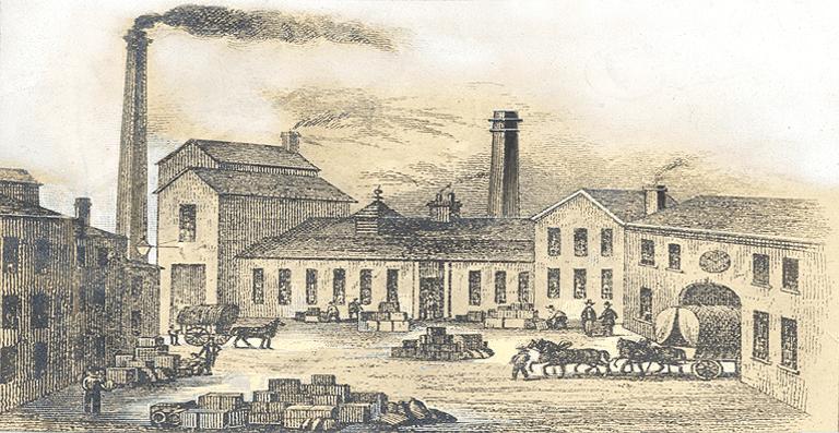 Bridge Street Works factory in central Birmingham
