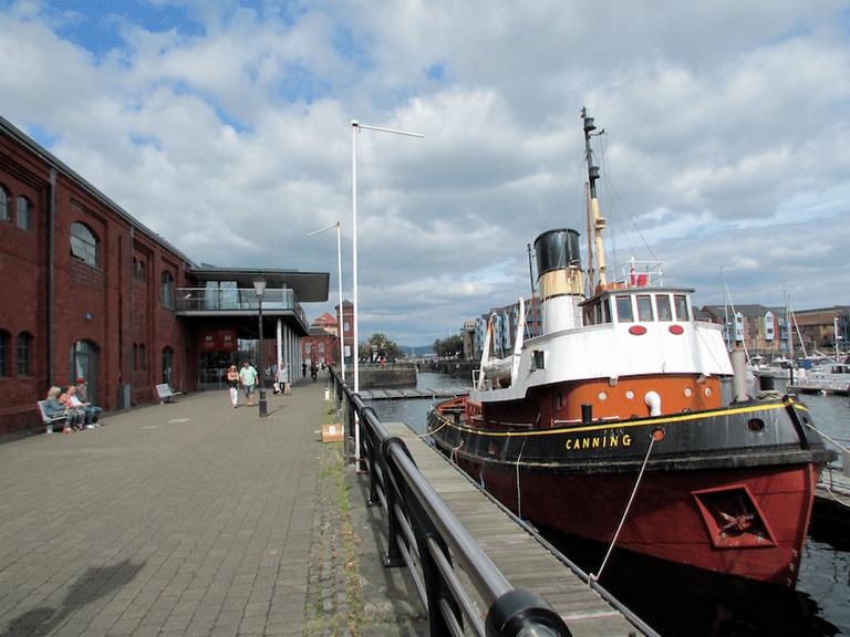 National Waterfront Museum in Swansea ©Tom Bastin/Flickr