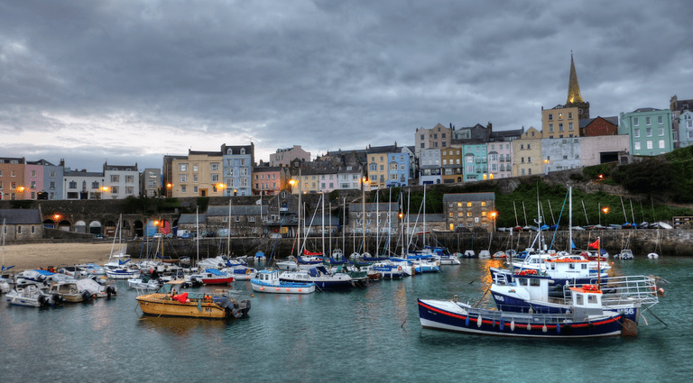 Tenby Harbour|©Matthew Hartley/Flickr