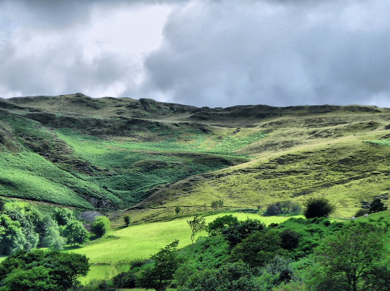 Welsh Hills|©Jamie Taylor/Flickr