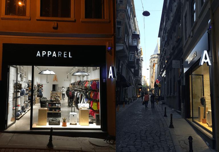 Apparel's shop front | © Apparel