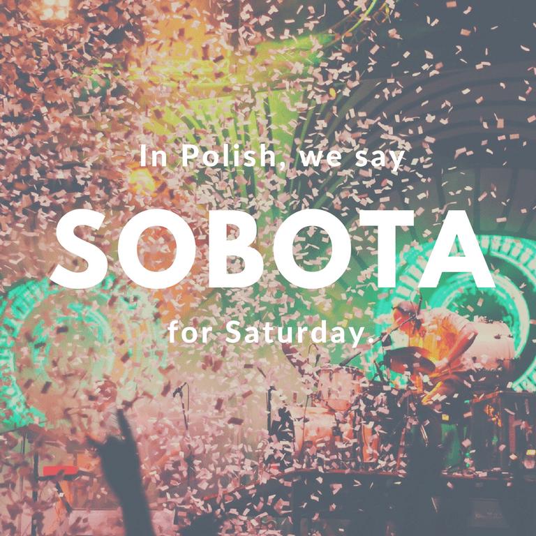 Sobota-Saturday © Culture Trip/Ewa Zubek